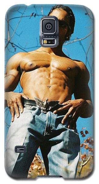 Galaxy S5 Case featuring the photograph The Art Or Muscle by Jake Hartz