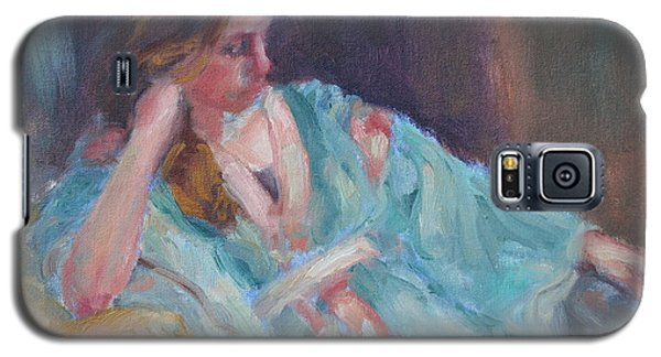 Inner Light - Original Impressionist Painting Galaxy S5 Case