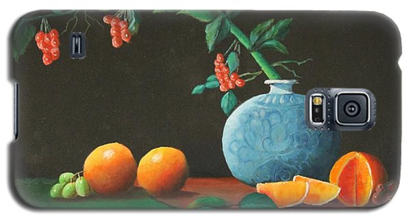 The Asian Vase And Oranges Galaxy S5 Case