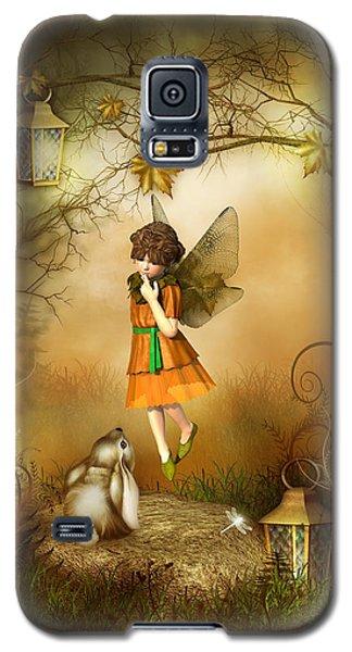 The Autumn Fairy Galaxy S5 Case by Jayne Wilson