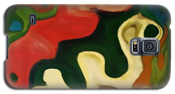 Galaxy S5 Case featuring the painting The Awakening by Jann Paxton