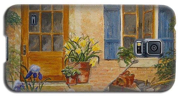 The Back Door Galaxy S5 Case by Marilyn Zalatan