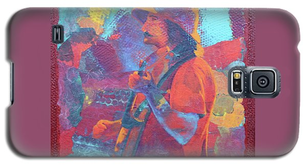 Galaxy S5 Case featuring the painting The Banjo Player by Nancy Jolley