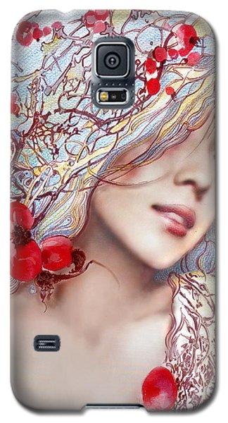 The Barberry Galaxy S5 Case by Anna Ewa Miarczynska