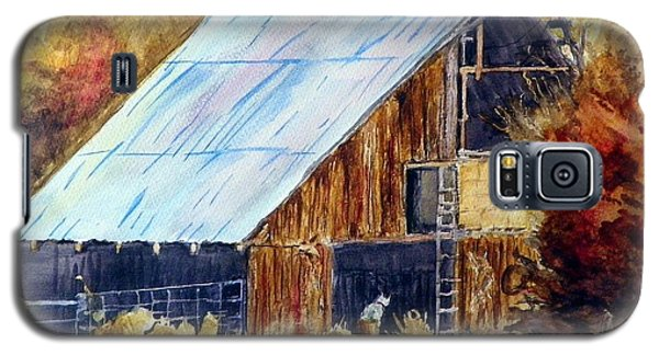 The Barn Mouser Galaxy S5 Case by Sherril Porter