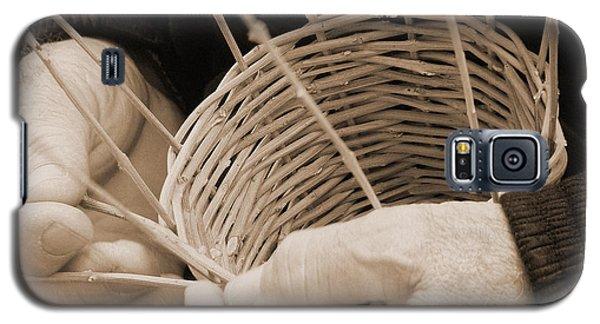The Basket Weaver Galaxy S5 Case by Marcia Socolik