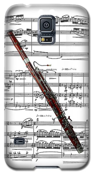 The Bassoon Galaxy S5 Case by Ron Davidson