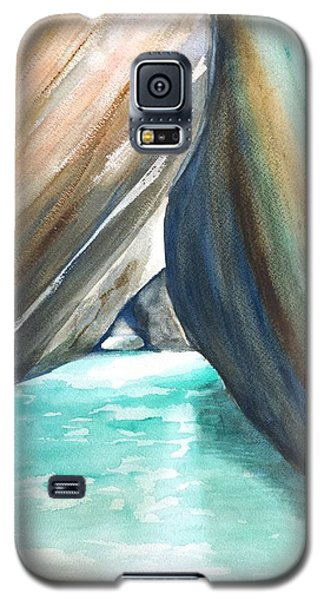 The Baths Turquoise Galaxy S5 Case by Carlin Blahnik