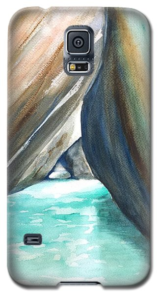 The Baths Turquoise Galaxy S5 Case