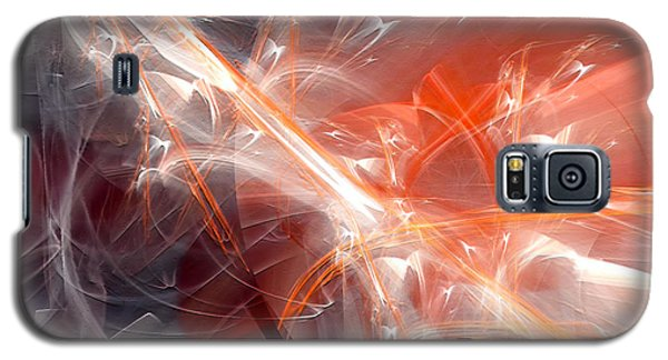 Galaxy S5 Case featuring the digital art The Battle by Margie Chapman