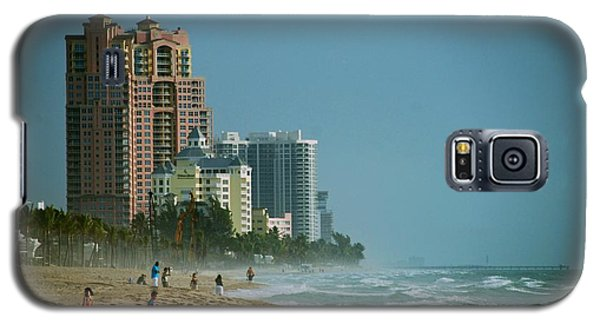 The Beach Near Fort Lauderdale Galaxy S5 Case
