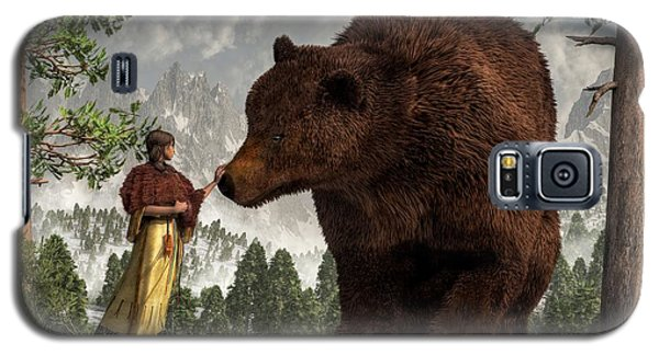 The Bear Woman Galaxy S5 Case