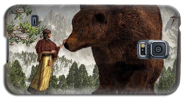 The Bear Woman Galaxy S5 Case