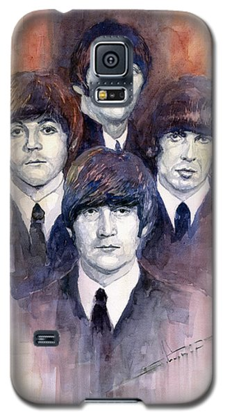 Musicians Galaxy S5 Case - The Beatles 02 by Yuriy Shevchuk