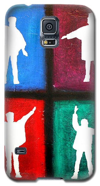 The Beatles Help Pop Art Galaxy S5 Case
