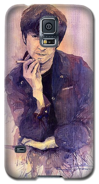 Portret Galaxy S5 Case - The Beatles John Lennon by Yuriy Shevchuk