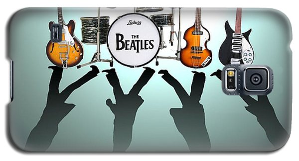 Drum Galaxy S5 Case - The Beatles by Lena Day