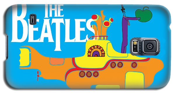 Music Galaxy S5 Case - The Beatles No.11 by Geek N Rock