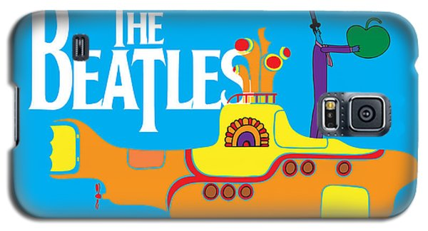 Music Galaxy S5 Case - The Beatles No.11 by Geek N Rock