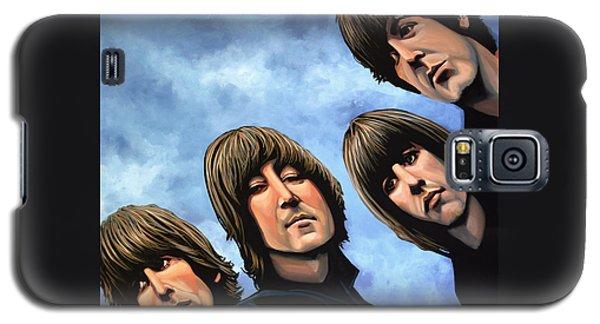 The Beatles Rubber Soul Galaxy S5 Case by Paul Meijering