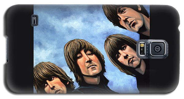 Rock And Roll Galaxy S5 Case - The Beatles Rubber Soul by Paul Meijering