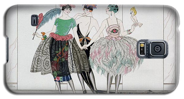 Parakeet Galaxy S5 Case - The Beautiful Savages by Georges Barbier