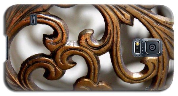 The Beauty Of Brass Scrolls 1 Galaxy S5 Case