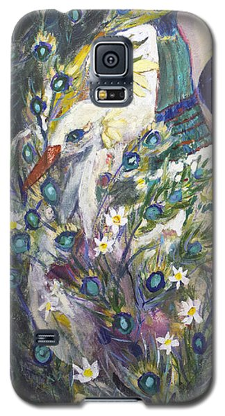 Galaxy S5 Case featuring the painting The Beauty Of Form by Avonelle Kelsey