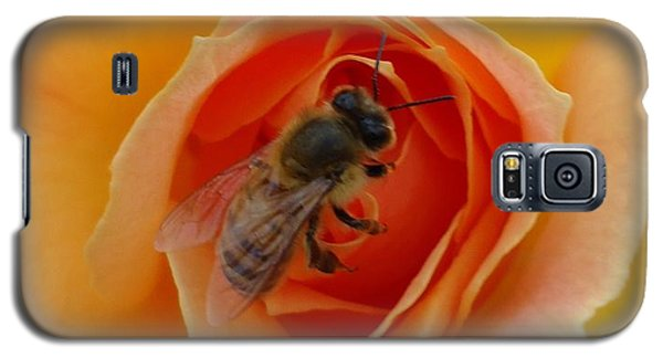 Galaxy S5 Case featuring the photograph The Beekeeper by Leslie Manley