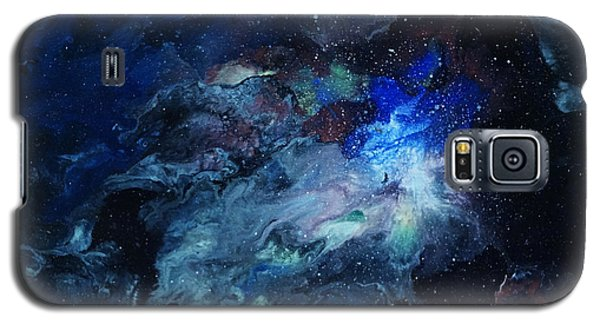 Galaxy S5 Case featuring the painting The Beginning by Arlene Sundby