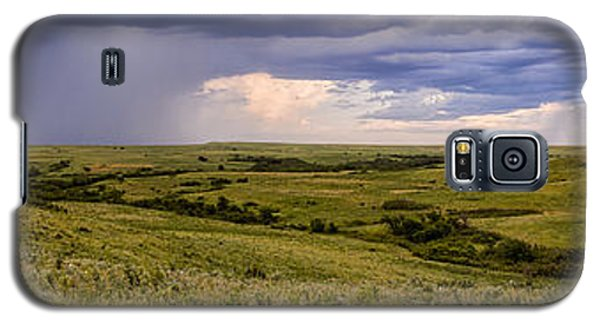 The Beginnings - Flint Hills Storm Pano Galaxy S5 Case