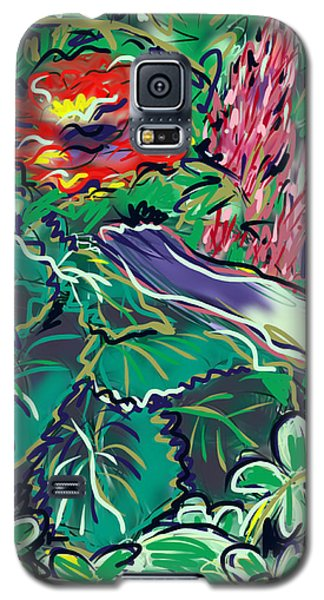The Begonia Galaxy S5 Case by Jean Pacheco Ravinski