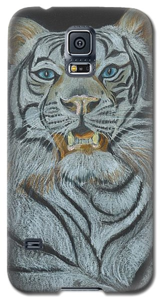 Galaxy S5 Case featuring the pastel The Bengal by Carol Wisniewski