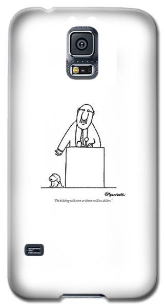 The Bidding Will Start At Eleven Million Dollars Galaxy S5 Case