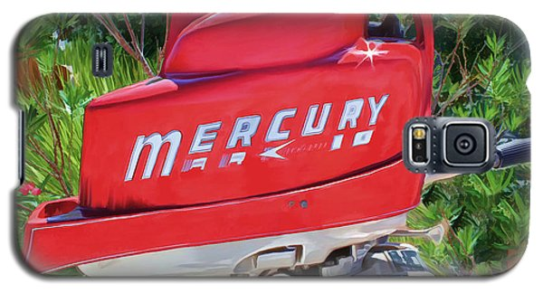 The Big Red Mercury Engine Galaxy S5 Case