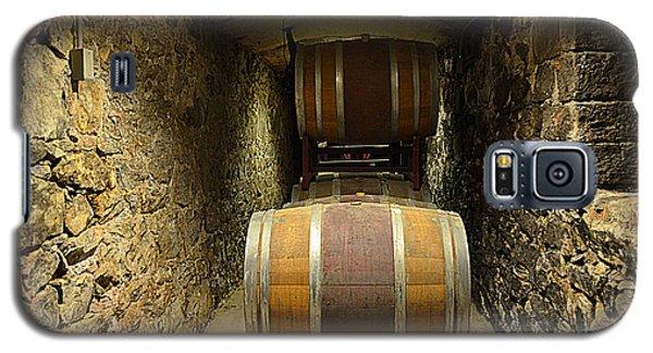 The Biltmore Estate Wine Barrels Galaxy S5 Case