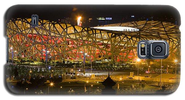 The Birds Nest Stadium China Galaxy S5 Case