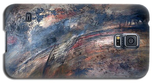 Galaxy S5 Case featuring the painting The Birth Of Andromeda by Buck Buchheister