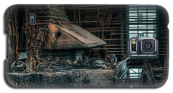 The Blacksmith's Forge - Industrial Galaxy S5 Case