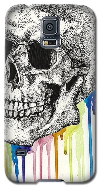 The Bleeding Skull Galaxy S5 Case