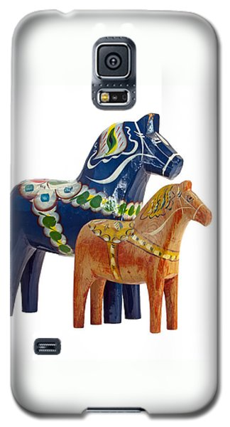 The Blue And Red Dala Horse Galaxy S5 Case