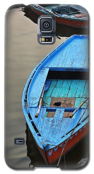 The Blue Boat Galaxy S5 Case