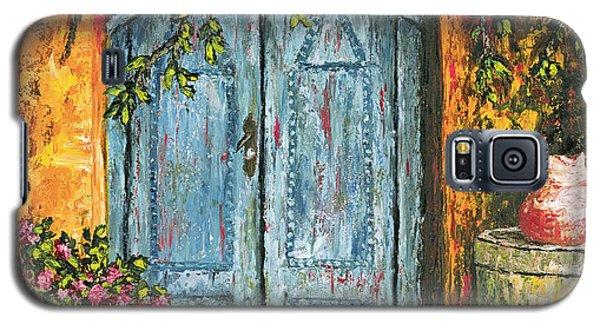 The Blue Door Galaxy S5 Case by Darice Machel McGuire