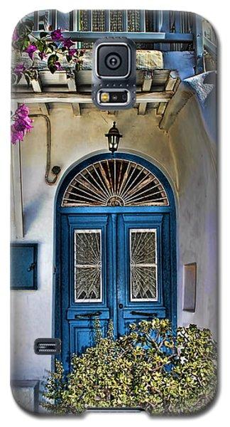 The Blue Door-santorini Galaxy S5 Case by Tom Prendergast