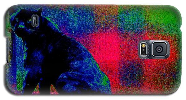 The Blue Jaguar Galaxy S5 Case by Susanne Still
