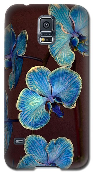 The Blue Orchid Galaxy S5 Case