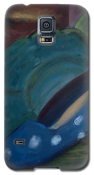 The Blue Shoe And The Plate 2 Galaxy S5 Case by Darlene Berger