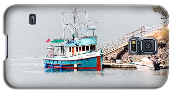 Galaxy S5 Case featuring the photograph The Boat by Jim Thompson