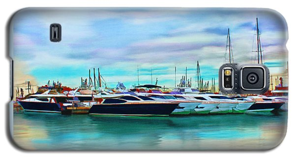 The Boats Of Malaga Spain Galaxy S5 Case