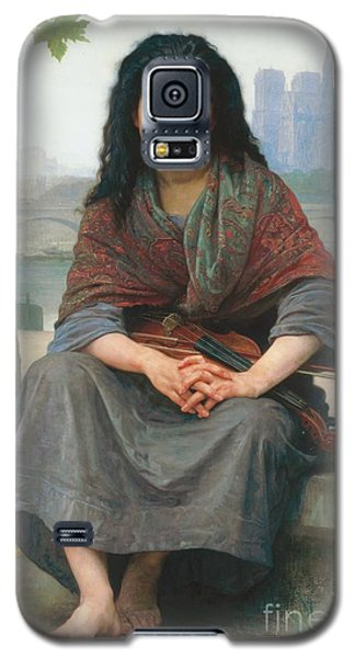 Violin Galaxy S5 Case - The Bohemian by William Adolphe Bouguereau